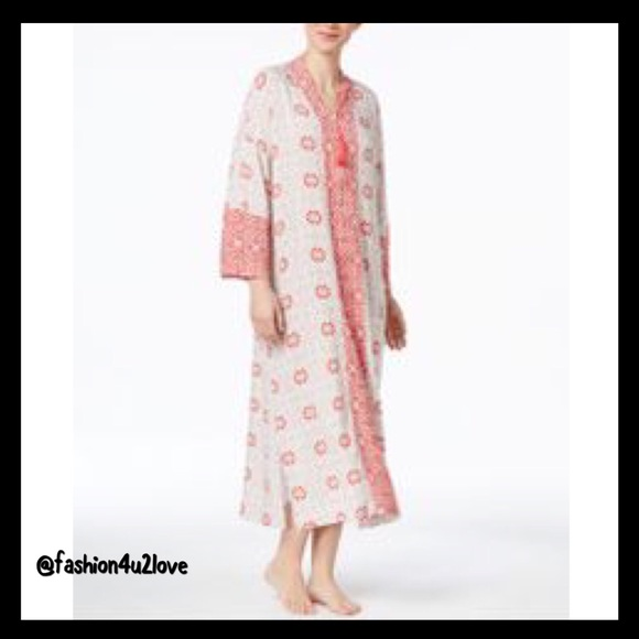 89edabe594e1 Charter Club Intimates & Sleepwear | Printed Long Caftan Only At ...